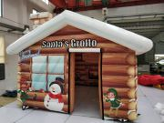 Inflatable Santa s Grotto oder
