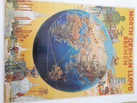 Bild 4 - Gemälde Bild Poster Dampfer Schiffe - Offenbach