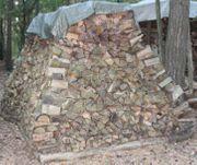 Brennholz-Haufen 25cm getrocknet ofenfertig 12