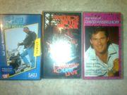 Videocassetten zu verschenken