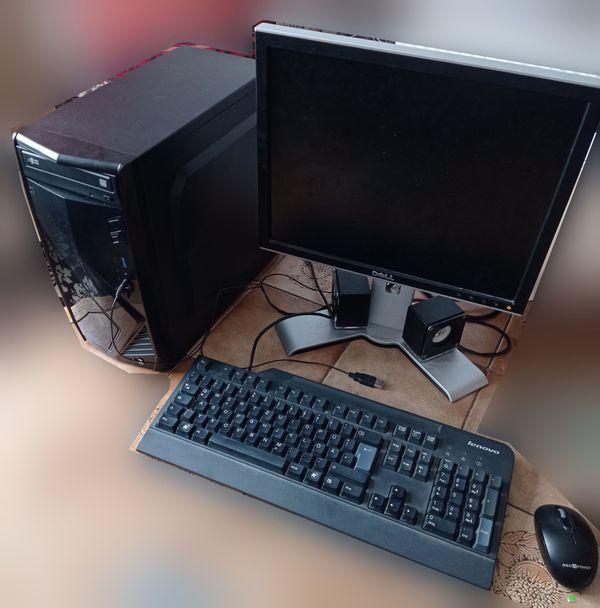 Komplett PC System mit Core i3 7100, 8GB DDR4, Kingston SSD uvm.