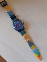 Swatch Swiss Uhr Armbanduhr bunt