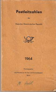 DDR Postleitzahlenbuch