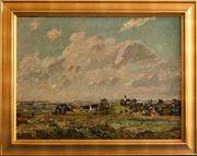 MeisterGemälde FELIX BÜRGERS 1870 Früher