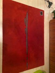 Teppich rot 140 200 cm