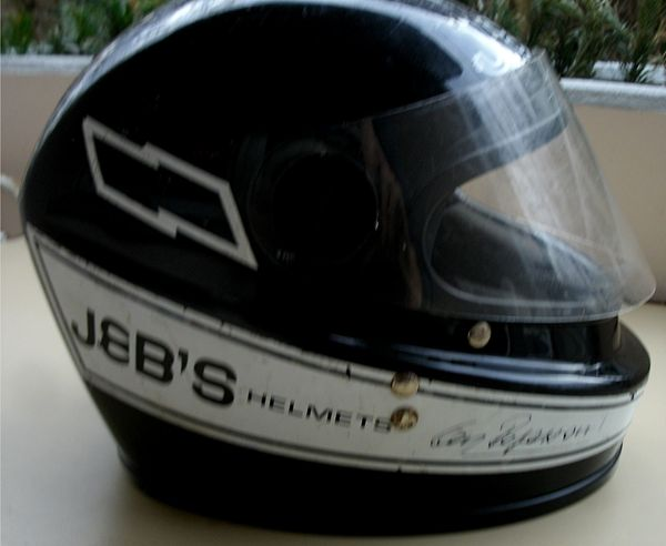 Vintage Jebs Helmet Clay Regazzoni
