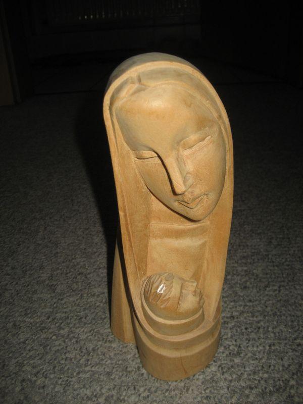 Marienfigur Maria mit Kind Figur