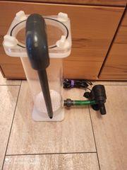 Pelletreaktor Fließfilter Wirbelbettfilter mit Pumpe