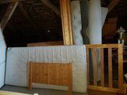 Bett Matratze und Lattenrost
