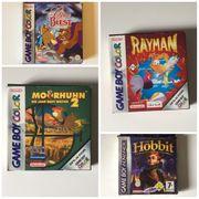 Gameboy Spiele in Ovp