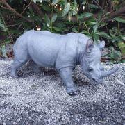 Nashorn 53 cm Dekofigur --NEU--