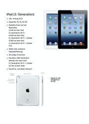 iPad 3 Generation Anfang 2012