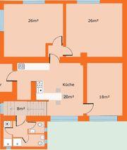 104m2 3 Zimmerwohnung mit großer