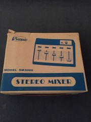 Mischpult Phonic Stereo Mixer SM