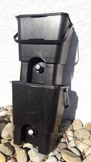 2 Bokashi Eimer kompakter Schnellkomposter