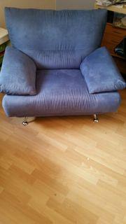 Sessel aus Couchgarnitur-