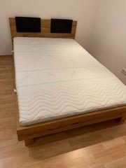Bett in Überlänge 140 x