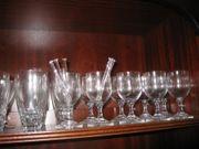 Diverse Weingläser Sektgläser etc zu