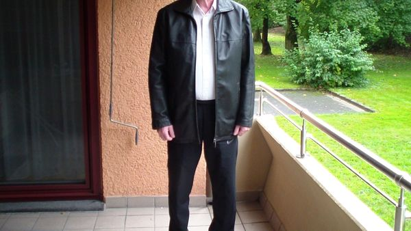 Verkaufe Herren Nappa Lederjacke