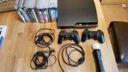 PS 3 Konsole mit Zubehör