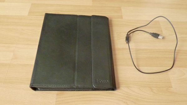 iPad Tasche mit integrierter Bluetooth-Tastatur