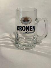Biergläser Kronen Brauerei