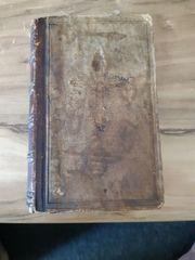 Altes Kirchenbuch mit Widmung