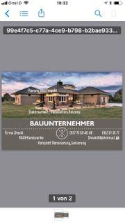 BAUUNTERNEHMER Firma SHEVKI