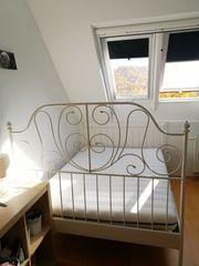 Doppelbett Leirvik von IKEA incl