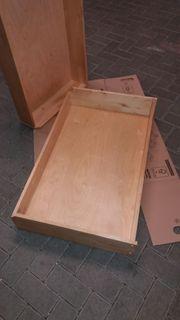 IKEA komplement schubladen echtholz birke
