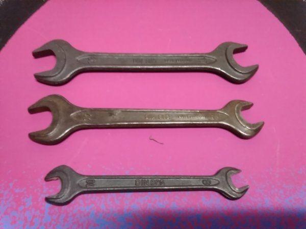 Gabelschlüssel altes KFZ Bordwerkzeug
