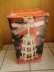 Weihnachtspyramide 58 cm Design Hesse
