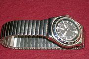 Swatch Herren-Armbanduhr Quartz Edelstahl Gehäusebreite