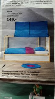 Umbaufähiges Bett Kura