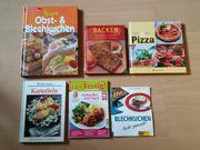 Kochbücher Backbücher Blechkuchen Pizza wie
