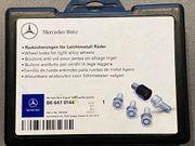 ORIGINAL Mercedes-Benz Radsicherungen Radschrauben