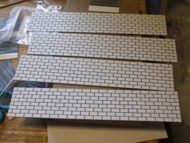 Werkzeuge, Zubehör - Stützmauer 200x40x1 für Geländetabelle Für