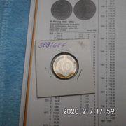 D-Mark 10 Pfennig 1968 F