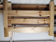 Doppelstockbett Naturholz 90x200 cm