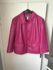 Leder-Jacke Damen-Lederjacke Gr 42