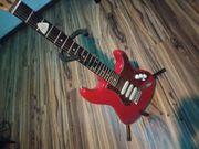 E-Gitarre e gitarre