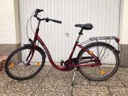 Damenrad 26 Zoll mit tiefen