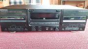 Doppelcassettendeck Tape von Kenwood KX-W4060