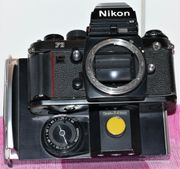 Nikon F3 HP Polaroid Rückwand
