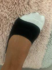 Getragene Socken und co