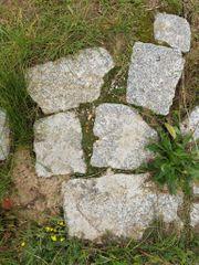 Granitsteine Pflastersteine