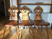Verkaufe antike Stühle