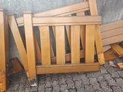 Holzgeländer aus Lärchenholz