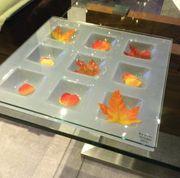 Tisch Gestell aus Glas