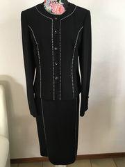 Schwarz weißes Kostüm Gr36 von